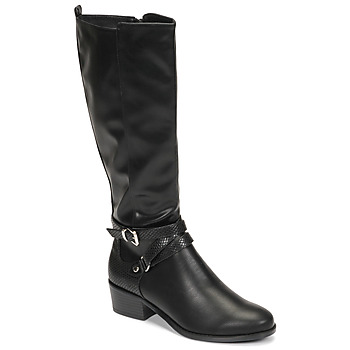 Shoes Women High boots Moony Mood NELLE Black