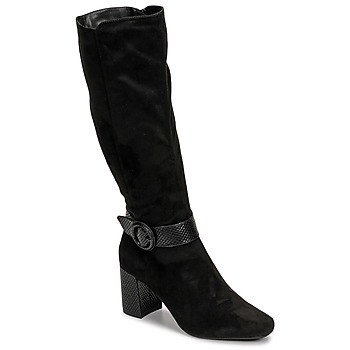 Shoes Women High boots Moony Mood NISTI Black