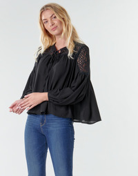 Clothing Women Tops / Blouses Molly Bracken R1521H20 Black