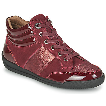 Shoes Women Hi top trainers Damart 57079 Bordeaux