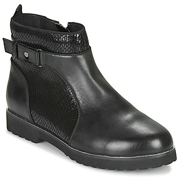 Shoes Women Mid boots Damart 63042 Black