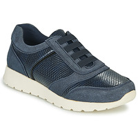 Shoes Women Low top trainers Damart 63737 Blue