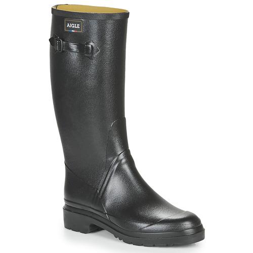 Shoes Men Wellington boots Aigle Cessac  black