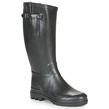 Shoes Women Wellington boots Aigle AIGLENTINE 2  black