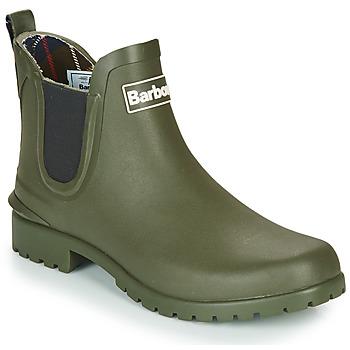 Shoes Women Wellington boots Barbour WILTON Olive