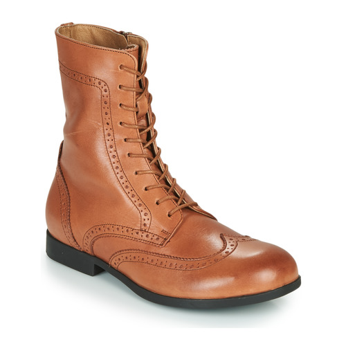 Shoes Women Mid boots Birkenstock LARAMIE HIGH Camel