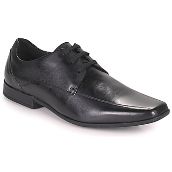 Shoes Men Derby Shoes Clarks Glement Over  black