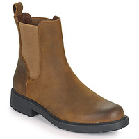 Shoes Women Mid boots Clarks Orinoco2 Top Brown