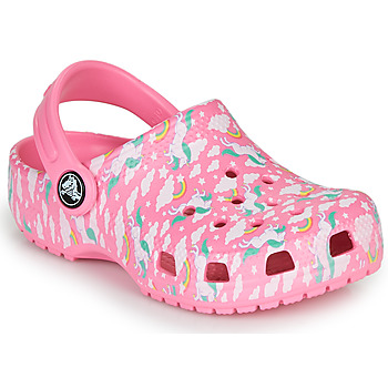 Shoes Girl Clogs Crocs CLASSIC PRINTED CLOG K Pink