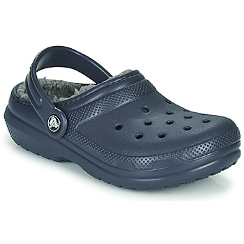 Shoes Children Clogs Crocs CLASSIC LINED CLOG K Blue
