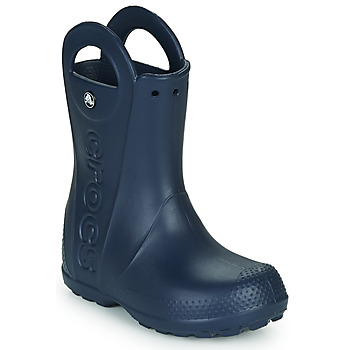 Shoes Children Wellington boots Crocs HANDLE IT RAIN BOOT Navy