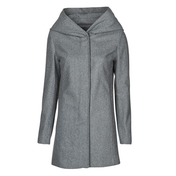 Clothing Women Coats Moony Mood NANTE Grey / Dark