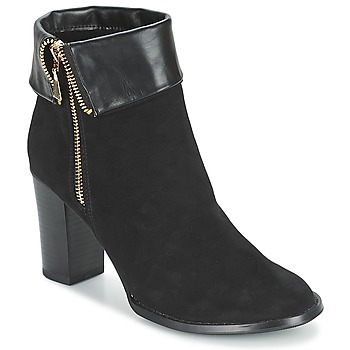 Shoes Women Ankle boots Moony Mood FRISETTE Black