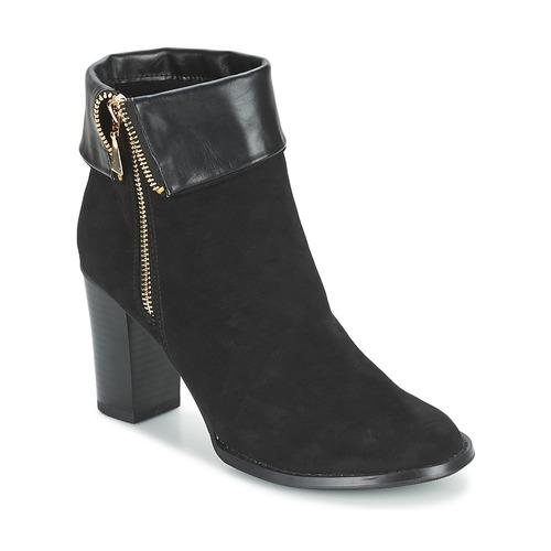 Shoes Women Ankle boots Moony Mood FRISETTE Black