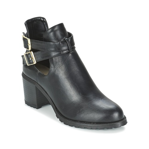 Shoes Women Ankle boots Moony Mood BIFILA Black