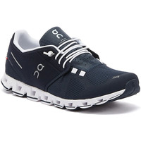 Shoes Men Low top trainers On Running The Cloud Mens Navy / White Trainers Navy