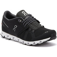Shoes Men Low top trainers On Running The Cloud Mens Black / White Trainers Black