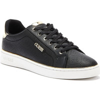 Shoes Women Low top trainers Guess Beckie Womens Black Trainers Black