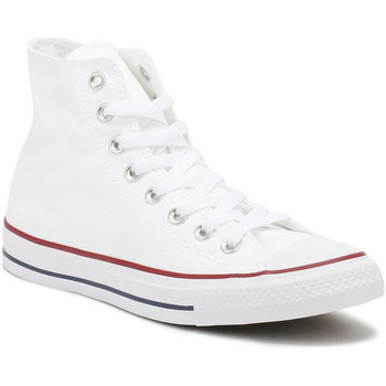 Shoes Hi top trainers Converse All Star Hi Mens Optical White Canvas Trainers White