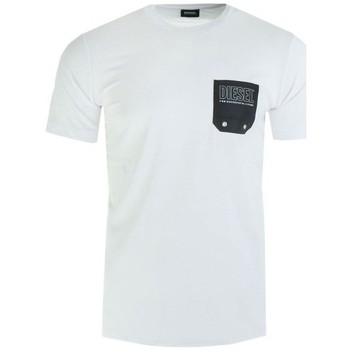 Clothing Men Short-sleeved t-shirts Diesel 00SY990DAYD100 White