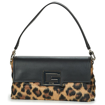 Bags Women Small shoulder bags Guess BRIGHTSIDE SHOULDER BAG Leopard / Black