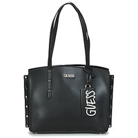 Bags Women Shopping Bags / Baskets Guess TIA GIRLFRIEND CARRYALL Black