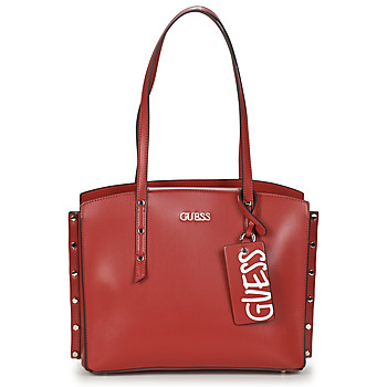 Bags Women Shopping Bags / Baskets Guess TIA GIRLFRIEND CARRYALL Red