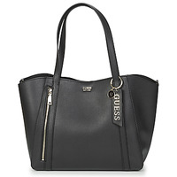 Bags Women Shopping Bags / Baskets Guess NAYA TOTE Black