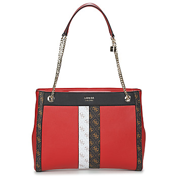Bags Women Small shoulder bags Guess KATEY GIRLFRIEND CARRYALL Red / Multicolour