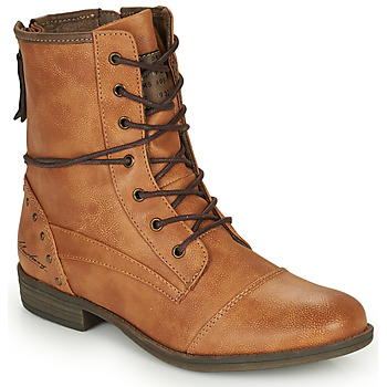 Shoes Women Mid boots Mustang 1157508 Camel