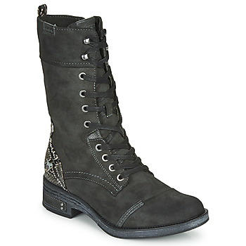 Shoes Women Mid boots Mustang 1293519 Grey