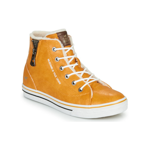 Shoes Children Hi top trainers Mustang 5056604 Yellow