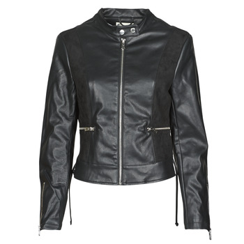 Clothing Women Leather jackets / Imitation leather Kaporal LIVY Black