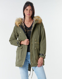 Clothing Women Parkas Kaporal LOFTY Kaki