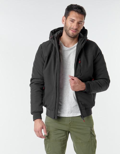 Clothing Men Jackets Kaporal BAYO Black