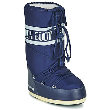 Shoes Women Snow boots Moon Boot NYLON Blue