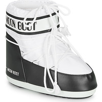 Shoes Women Snow boots Moon Boot CLASSIC LOW 2 White /  black