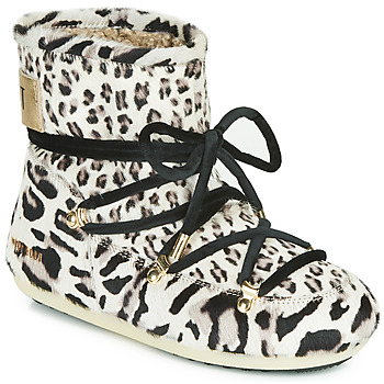 Shoes Women Snow boots Moon Boot DARK SIDE LOW ANIMAL Leopard