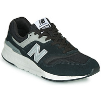 Shoes Men Low top trainers New Balance 997  black / Silver