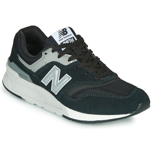 Shoes Low top trainers New Balance 997  black / Silver