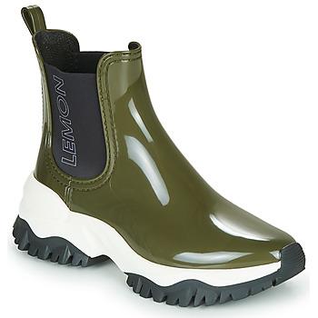 Shoes Women Wellington boots Lemon Jelly JAYDEN Kaki