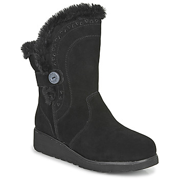Shoes Women Mid boots Skechers KEEPSAKES WEDGE  black