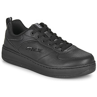 Shoes Women Low top trainers Skechers SPORT COURT 92 Black