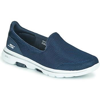 Shoes Women Slip-ons Skechers GO WALK 5 Blue