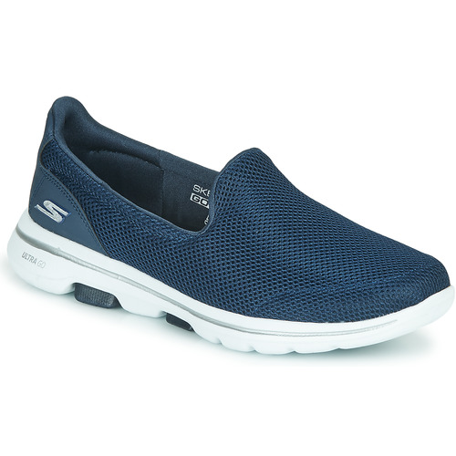 Shoes Women Slip-ons Skechers GO WALK 5 Blue