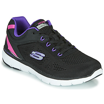 Shoes Women Low top trainers Skechers FLEX APPEAL 3.0 STEADY MOVE Black