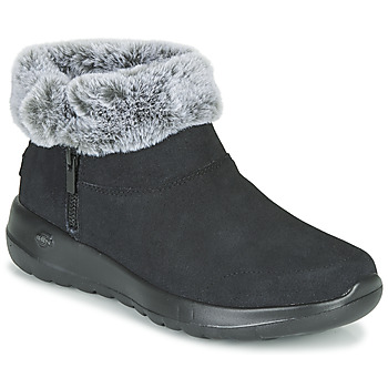 Shoes Women Mid boots Skechers ON-THE-GO JOY  black
