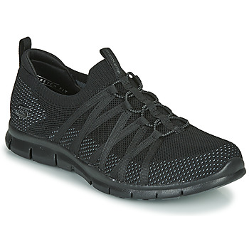 Shoes Women Low top trainers Skechers GRATIS CHIC NEWNESS Black