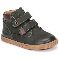 Shoes Boy Mid boots Kickers TACKEASY Kaki