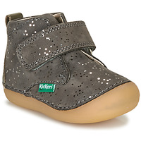Shoes Girl Mid boots Kickers SABIO Grey